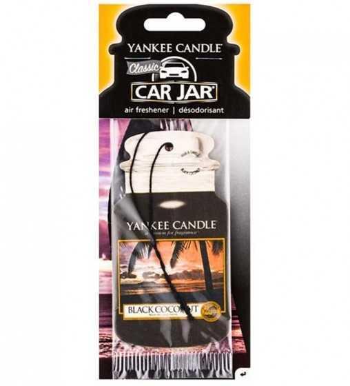 Noix de coco noire - Car Jar Yankee Candle - 1