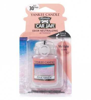Sables Roses - Ultimate Car Jar Yankee Candle - 1