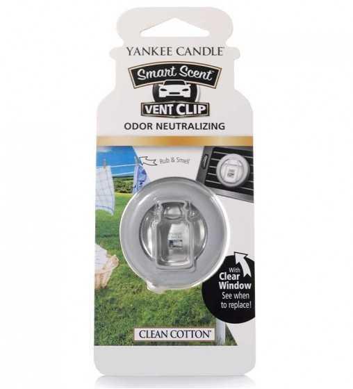 Coton Frais - Smart Scent Car Jar Yankee Candle - 1