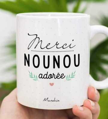 Merci Nounou Adorée - Mug Manahia - 1