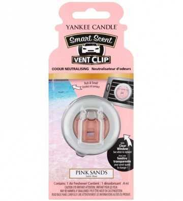 Sables Roses - Smart Scent Car Jar Yankee Candle - 1