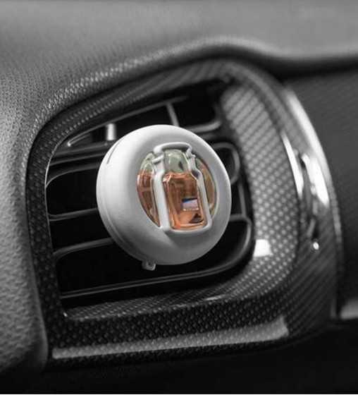 Sables Roses - Smart Scent Car Jar Yankee Candle - 2
