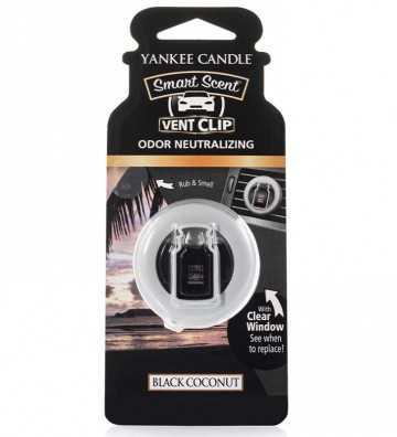Noix de coco noire - Smart Scent Car Jar