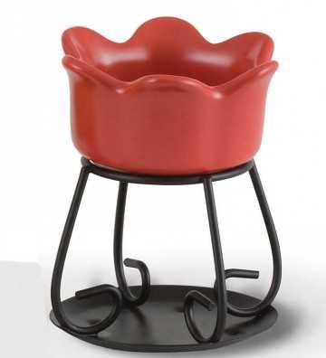 Petal Bowl Rouge - Brûleur