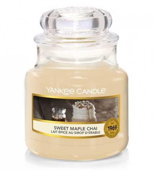 Lait épicé au Sirop d'érable - Petite Jarre Yankee Candle - 1