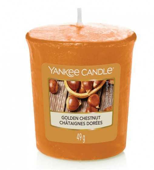 Châtaignes Dorées - Votive Yankee Candle - 1