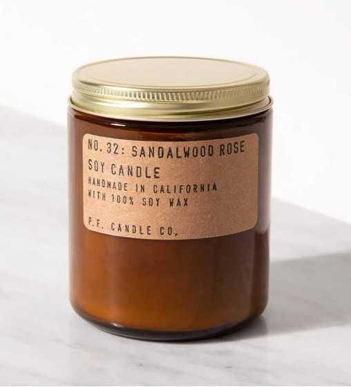 Sandalwood Rose - Moyenne Jarre P. F. Candle - 2