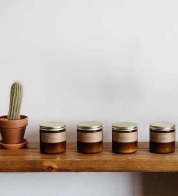 Patchouli Sweetgrass - Moyenne Jarre P. F. Candle - 1