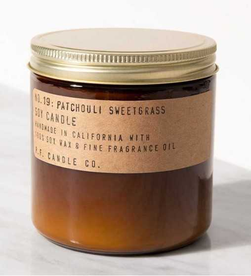 Patchouli Sweetgrass - Grande Jarre P. F. Candle - 2