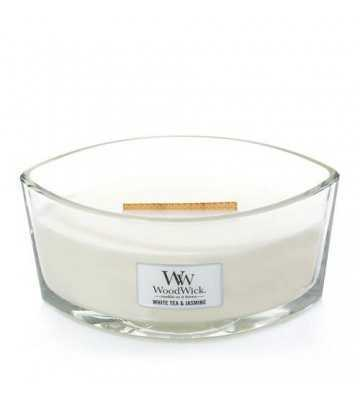 Thé blanc & jasmin - Ellipse Wood Wick - 1