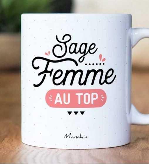 Sage Femme au Top - Mug Manahia - 1