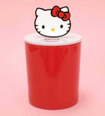 Hello Kitty - Jarre Rouge avec Couvercle