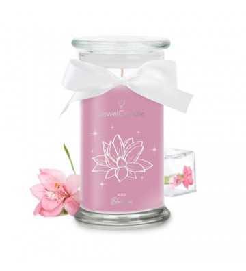 Iced Blossom - Bougie-Bijou avec Bague