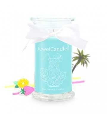 Sun, Beach & Cocktail - Bougie-Bijou avec Bague Jewel Candle - 1