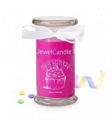 Happy Bithday - Bougie-Bijou avec Bague Jewel Candle - 1