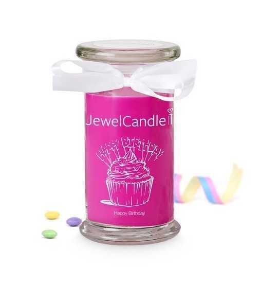 Happy Bithday - Bougie-Bijou avec Bague Jewel Candle - 1