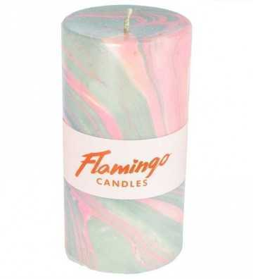 Pink Petrol - Bougie Marbre Flamingo Candles - 1