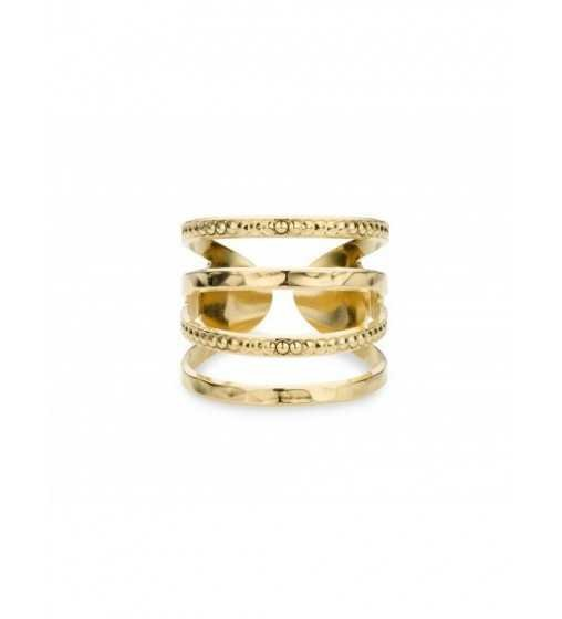 Bague New York Martele Or