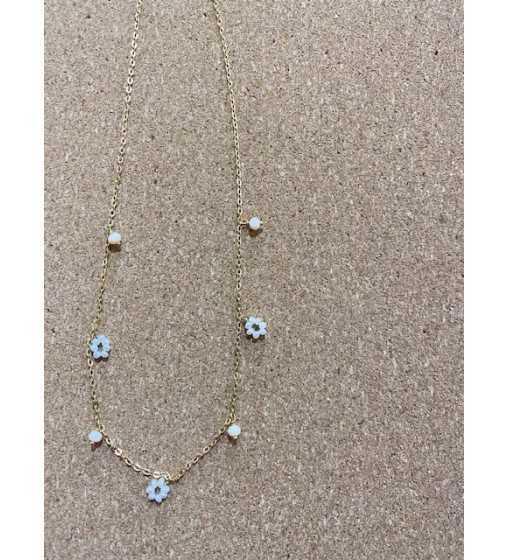 Collier Or Perles ivoires À la Collection - 1