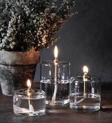 Lampe à huile Cylindre Hauteur 8,5cm Peri Design - 1