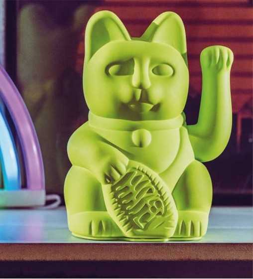Lucky Cat - Neon Vert Donkey - 1