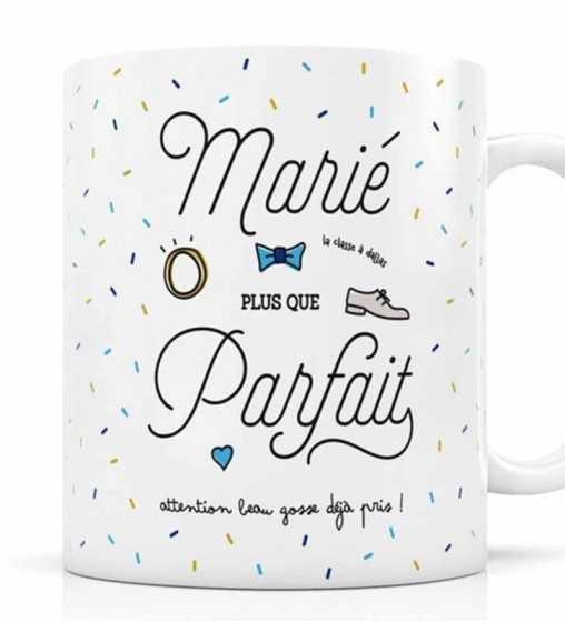 Mug Marié plus que Parfait Créa-Bisontine - 1