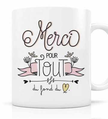 Mug Merci pour Tout