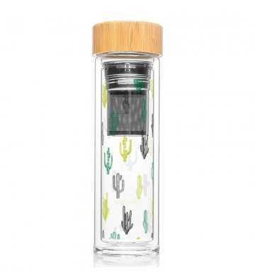 Bouteille infuseur Cactus Créa-Bisontine - 1