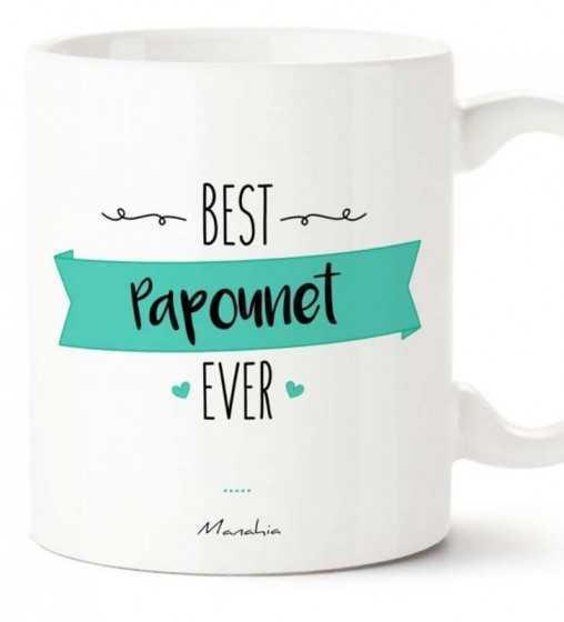 Best Papounet - Mug Manahia - 1