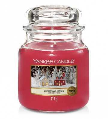 Magie de Noël - Moyenne Jarre Yankee Candle - 1