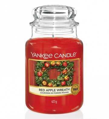 Couronne de Pommes Rouges - Grande Jarre Yankee Candle - 1
