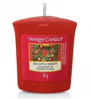 Couronne de Pommes Rouges - Votive Yankee Candle - 1
