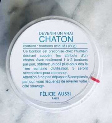 Bonbons Chaton Félicie Aussi - 1