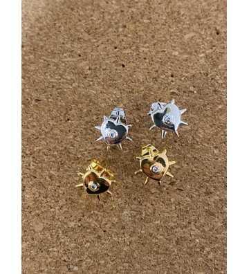 Boucles d'oreilles Agra Argent Mya Bay - 1