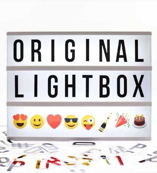 Lightbox A4 Noire Locomocéan - 1