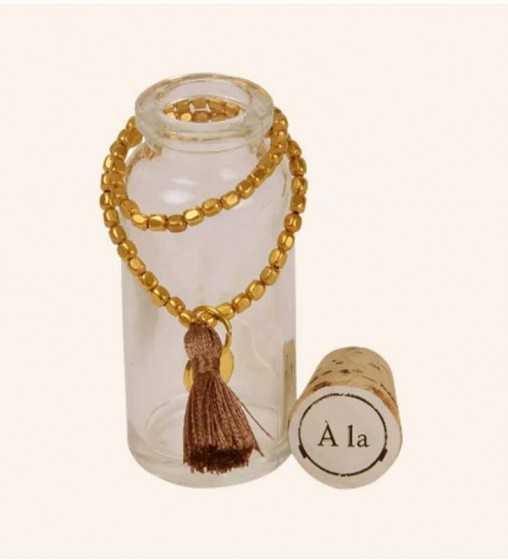 Bracelet Tube Taupe À la Collection - 1