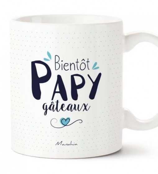 Bientôt Papy Gateaux - Mug