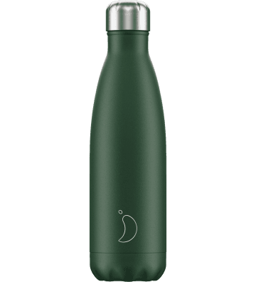 Bouteille Matte Vert 500ml Chilly'S Bottle - 1