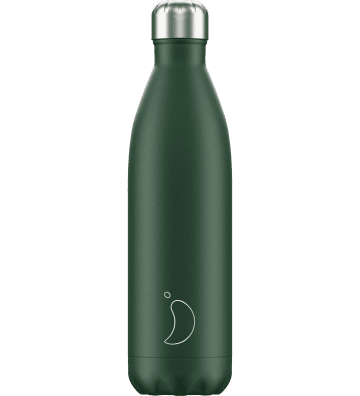 Bouteille Matte Vert 750 ML Chilly'S Bottle - 1