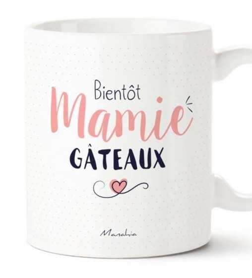 Bientôt Mamie Gateaux - Mug Manahia - 1