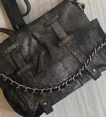 Besace Bach Anthracite Mila Louise - 1