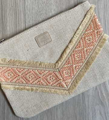 Pochette Arrow Grand modèle Corail Mila Louise - 1