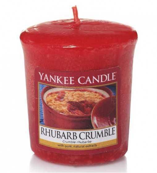 Crumble Rhubarbe - Votive Yankee Candle - 1
