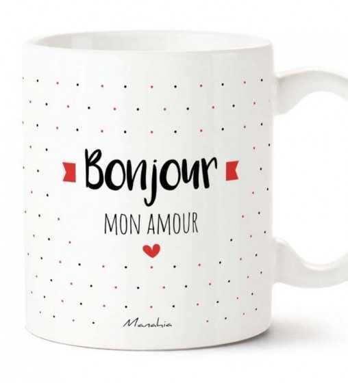 Bonjour Mon Amour - Mug Manahia - 1