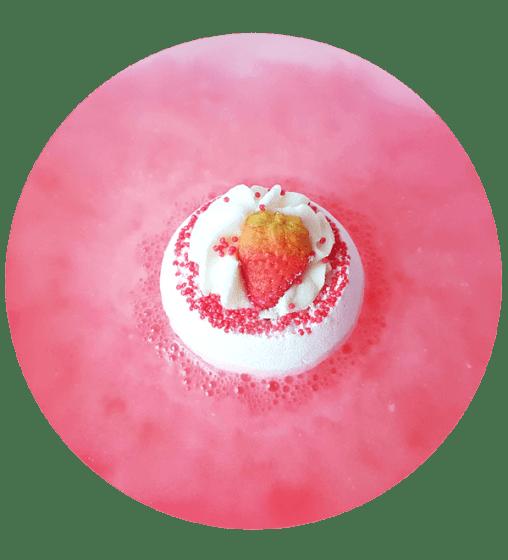 Strawberry Sunrise - Boule de Bain Bomb Cosmetics - 2