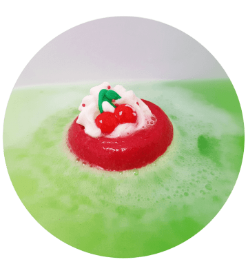 Cherry on Top - Boule de Bain Bomb Cosmetics - 2