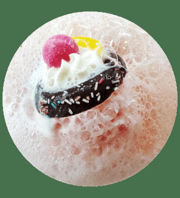 Move Over Pavlova - Boule de Bain Bomb Cosmetics - 2