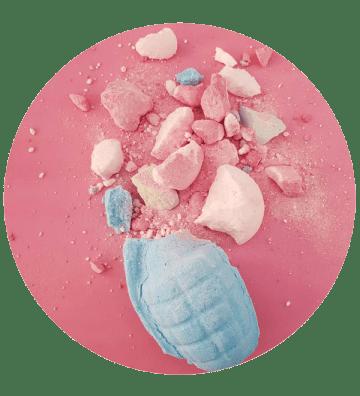 Man Grenade - Boule de Bain Bomb Cosmetics - 1