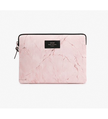 Housse Ipad Marbre Rose Wouf - 1