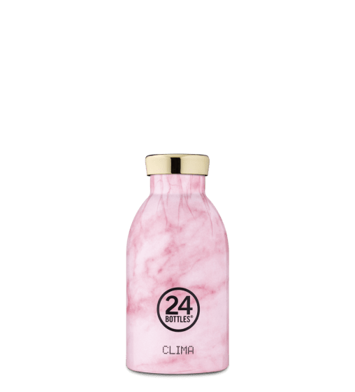 Bouteille Marble Pink - 330ml 24Bottles - 1